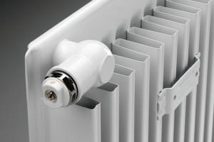 Průřez radiatoru